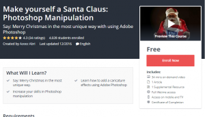 FREE and Sale Udemy Courses Dec 10, 2017 – Join Over 27,500